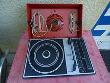 Philips 280 vintage orange fonctionne tourne-disque