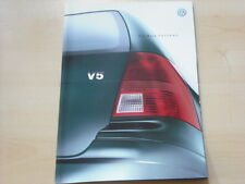 52307) VW Bora Variant Prospekt 10/2000
