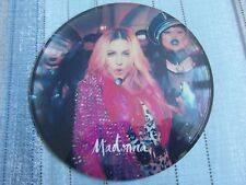 """NO3 MADONNA BEST NIGHT/MESSIAH DUBPLATE 7"""" PICTURE DISC TEST PRESSING"""