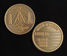 Masonic Medallion Pocket Coin (MM-MD)