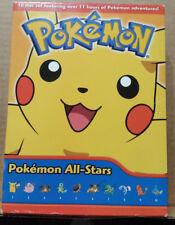 Pokemon All-Stars: 10 Disc DVD box set-2007-11 hours of Pokemon! VIZ Media!