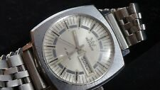 Vintage 1970'S Mens SS Westclox  17J Automatic day/date runs