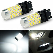JDM ASTAR 2x 3157 Cool White 144 SMD LED Turn Signal Brake Tail Stop Light Bulbs