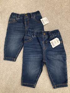 Twin Baby Boy Jeans Next 3-6 Months