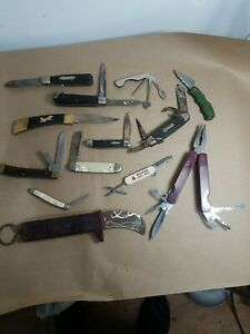 Misc Lot Pocket knives in Various Conditions. Sold As is for Parts, Restore #2