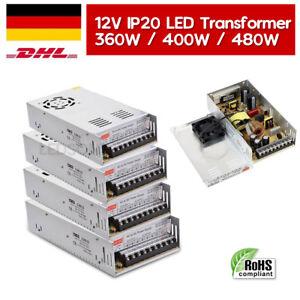 DC 12V LED Netzteil Trafo Schaltnetzteil Adapter Power Supply IP20 für LED Strip