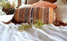 Soft Surroundings Pasha Bolster Beaded  Pillow / Cushion