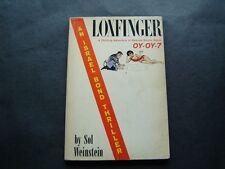 Loxfinger Book by Sol Weinstein An Israel Bond Thriller Secret Agent Oy-Oy 7
