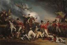 "36"" TOP ART America The Death of General Mercer at the Battle of Princeton PRINT"