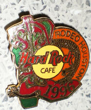 HARD ROCK CAFE-ALTE NADEL-kein Pin-HRC RODEO HOUSTON 1996-ca : 3 cm x 3,4 cm-TOP