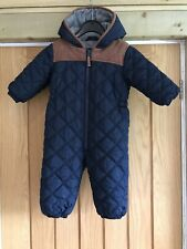 Next Boys Padded Snow Suit 12-18 Months