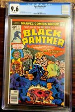 Black Panther 1 CGC 9.6 1977, newsstand edition, 1st App. Of The Black Panther.