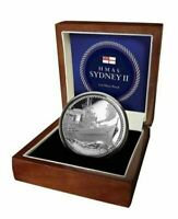 2016 HMAS SYDNEY High Relief Silver proof Coin