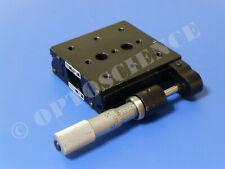 Newport 420 Linear Translation Stage With Vernier Micrometer 1 Range