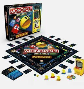 Monopoly Arcade Pacman Board Game Hasbro