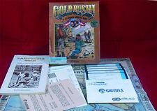 PC DOS: ORO Rush! - Sierra 1988 con imballo originale