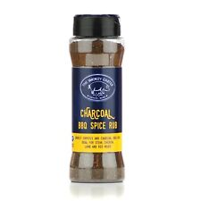 Activated Charcoal BBQ Rub Shaker - The Smokey Carter Barbecue seasoning, chilli
