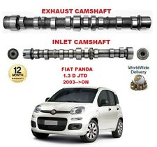 FOR FIAT PANDA + VAN 1.3 D JTD 2003-->ON ENGINE INLET & EXHAUST CAMSHAFT