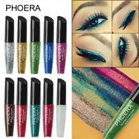 PHOERA Glitter Eyeliner Long Lasting Liquid Sparkly Makeup Eye Shadow Eye Liner