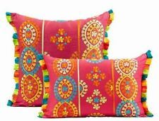 Embroidered Christmas Unbranded Decorative Cushions & Pillows