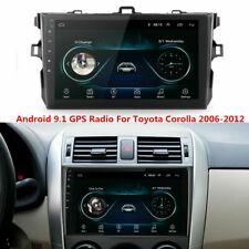 For 2006-2012 Toyota Corolla GPS Navigation Android 9.1 Car Stereo Radio WIFI BT