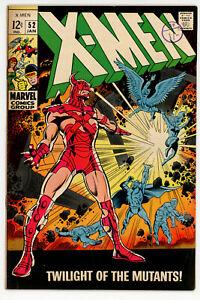 X-MEN #52 (Marvel 1969) FN condition NO RES!