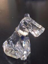 "Swarovski Crystal A289202 Symbols Classics The Dog Figurine 4 1/2"" Tall"