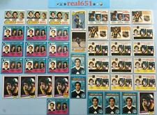 1976+ O-Pee-Chee Topps TIGER WILLIAMS Rookie #373-Base Lot x 52 Vintage | Dave