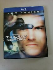 Minority Report *Very Good* w/ Lenticular Slip Cover (Blu-ray, 2-Disc)