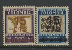 COLOMBIA, MINT, #C119-20, OG VLH, CLEAN, SOUND  & CENTERED