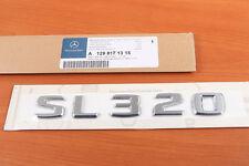 LOGO MERCEDES AMG SL320 SL S 320 R129 R230 R231 ORIGINAL BAUMEISTER