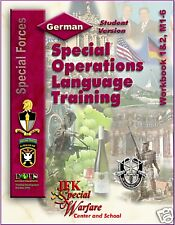 1,520 p. + 3 Hr Audio Special Forces GERMAN LANGUAGE CD