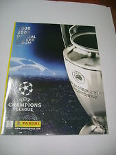 EMPTY ALBUM PANINI BRASIL CHAMPIONS LEAGUE 2008-2009