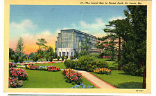 1940 postcard- The Jewel Box in Forest Park, St. Louis, Missouri