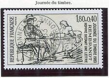 TIMBRE FRANCE OBLITERE N° 2258 REMBRANDT / Photo non contratuelle