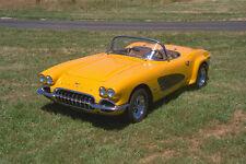 521099 1961 Chevrolet Corvette A4 Photo Print