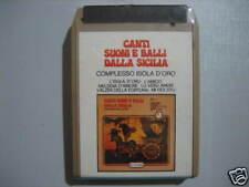CANTI SUONI E BALLI dalla SICILIA Stereo8 SIGILLATA!!