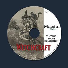 Witchcraft Vintage Books Collection 133 PDF E-Books on 1 DVD Sorcery,Demonology