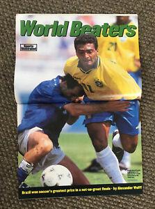 1994 Sports Illustrated magazine Viva! Brazil! Soccer World Beaters~Football