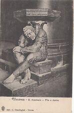 BF18977  sant anastasia pila a destra verona sculpture  art  front/back image