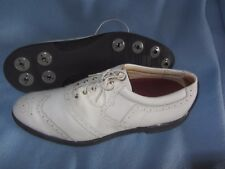 Bostonian metal spike golf shoes size 12 M (fit narrow)