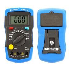 DM6013L Digital Capacitance Meter Capacitor Tester 1999 Count LCD Backlight E6Y7