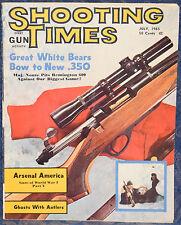 Vintage Magazine SHOOTING TIMES, July 1965 !!! GUNS of WWI: ARSENAL AMERICA !!!