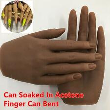 1pcs Silicone pratica mano per unghie reale persona Mold Mannequin modello