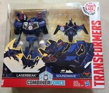 Transformers Robots in Disguise Soundwave & Lazerbeak