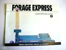 John Deere Forage Express Brochure                                        b4
