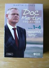 Doc Martin Collection Boxed Set Series 1 2 3 4 Martin Clunes 9 DVDs 30 episodes