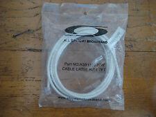 7 FT CAT5E WHITE RJ11  6P4C Data Cable Part NO. ASB1320-07W