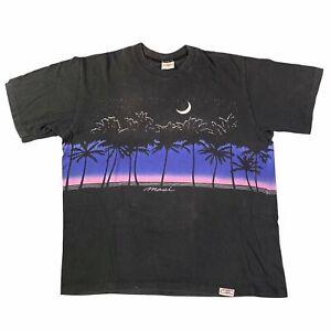 "Vintage Crazy Shirt ""Maui"" T-Shirt Sz S Hawaii 1990's Novelty Travel"