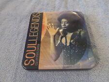 Soul Legends [Sonoma] by Various Artists (CD, Sep-2013, Sonoma) - 3 CD TIN SET